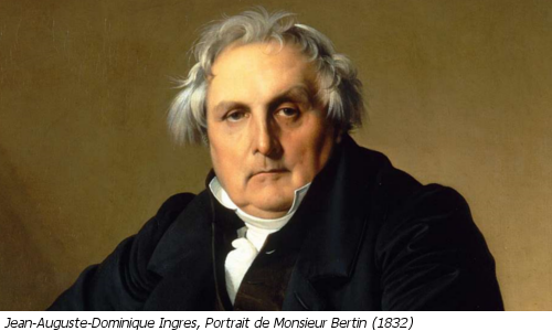 Jean-Auguste-Dominique Ingres, Portrait de Monsieur Bertin (1832)